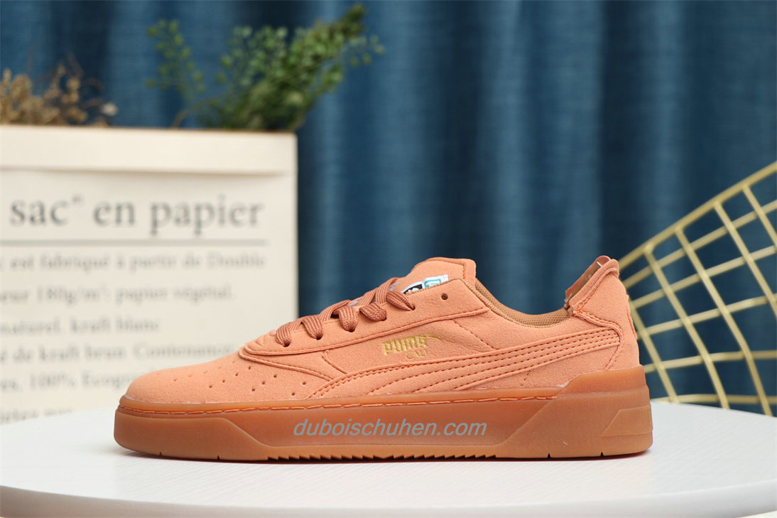 Schuhe Puma Amorous Feelings Suede Orange